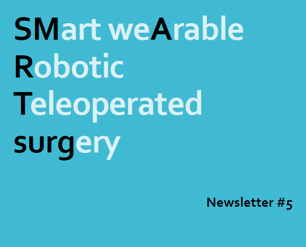 The 5th issue of SMARTsurg newsletter sequence is out!